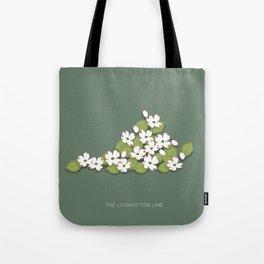 Home Sweet Virginia Dogwood Tote Bag