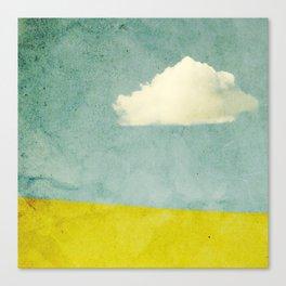 One Cloud Canvas Print