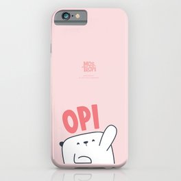 Case Opi iPhone Case