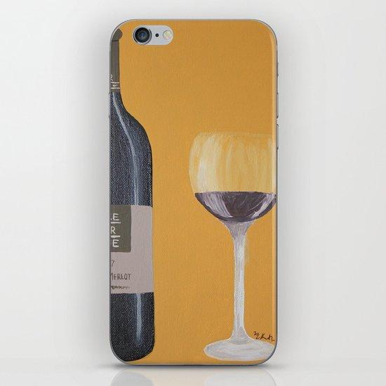 In vinum es veritas iPhone & iPod Skin