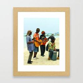 Jamaican Vibes Framed Art Print