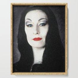 Morticia Addams Serving Tray