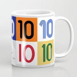 The No. 10 Legends Coffee Mug