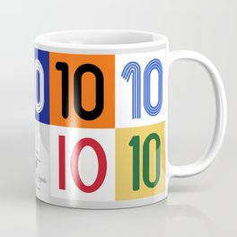 The No. 10 Legends Coffee Mug