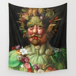Rudolf II as Vertumnus by Giuseppe Arcimboldo, 1591 Wall Tapestry