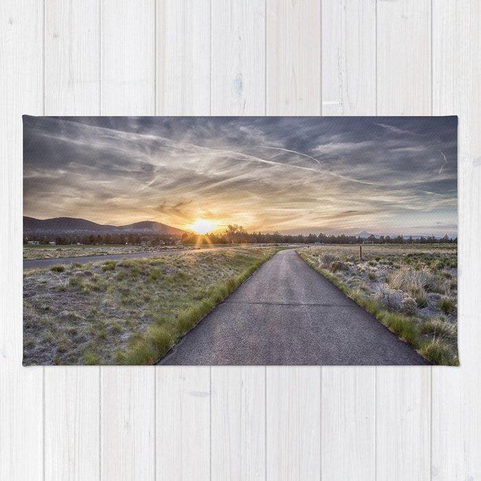 Sunset at Eagle Crest Rug