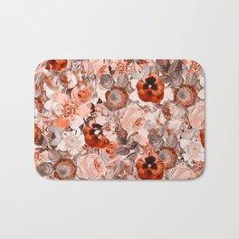 Floral Pattern III Bath Mat