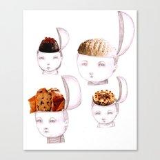Cake Heads Canvas Print