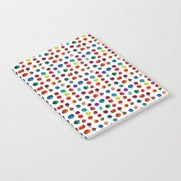 Abstract watercolor circles Notebook