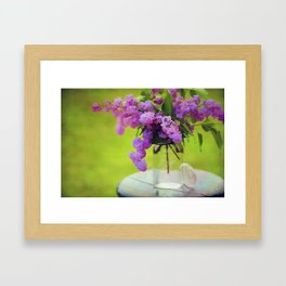 Spring Memories Framed Art Print
