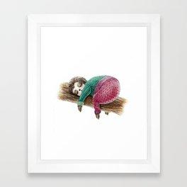 Lazy Soth Framed Art Print