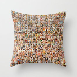 Two Years of Coffee Throw Pillow