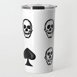 Cards With The Reaper Travel Mug