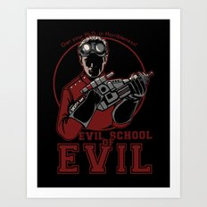 Dr. Horrible's Evil School of Evil Art Print