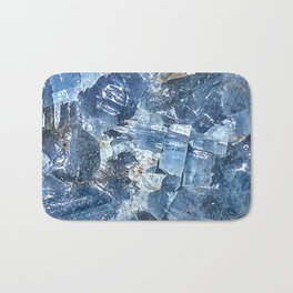 Blue Calcite Bath Mat