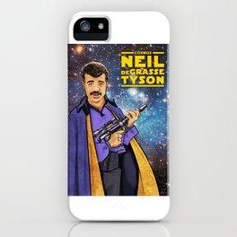 Neil deGrasse Tyson Cosplays Lando Calrissian iPhone Case