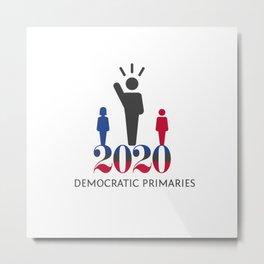 2020 Democratic Primaries Metal Print