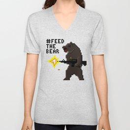 Bear Arms #2 Unisex V-Neck