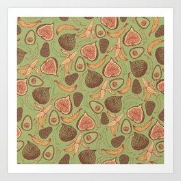 Fig Art Print