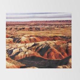 The Painted Desert Throw Blanket