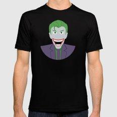The Joker Mens Fitted Tee MEDIUM Black