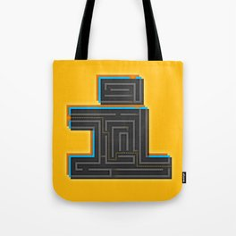 I for Itinerary Tote Bag
