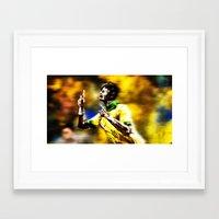 neymar Framed Art Prints featuring Neymar by Joaquim Meira