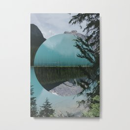What is the reality? Metal Print