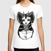 demon T-shirts featuring Demon by Leah Jade
