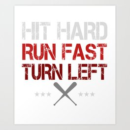 The Rules of Baseball Art Print