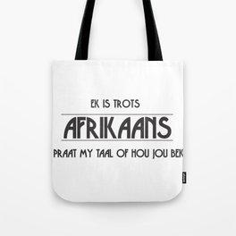 Afrikaans Tote Bag