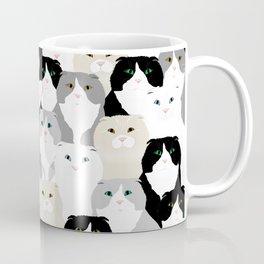Cats and Dog Coffee Mug