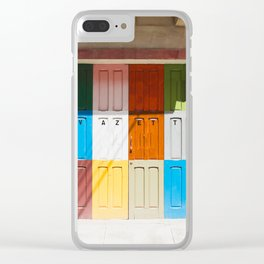 Malta Doors Clear iPhone Case