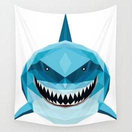 shark blue Wall Tapestry