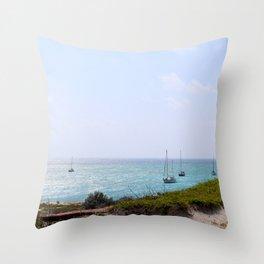 Sun Dance Cove Throw Pillow
