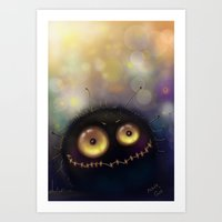 spider Art Prints featuring spider by Katja Main