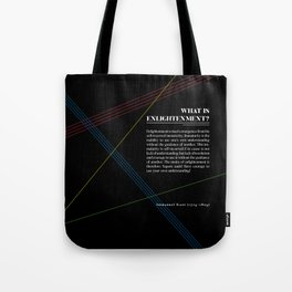 Philosophia I: What is Enlightenment? Tote Bag