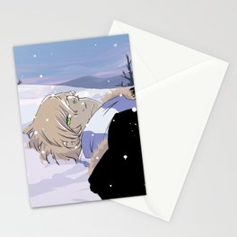 Snow nap Stationery Cards