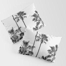 Black & White Palms 3 Pillow Sham
