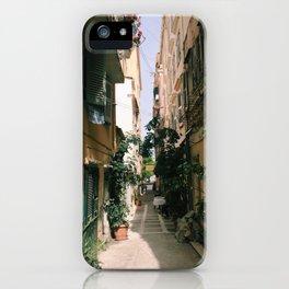Corfu Alley iPhone Case