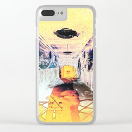 The Inner Chaos (II) Clear iPhone Case