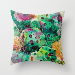 Prickly Pretty Throw Pillow