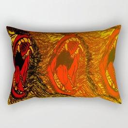 Speak No, Hear No, See No. Rectangular Pillow