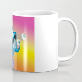Jeffy the Springy Eyed Husky Coffee Mug