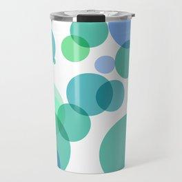 Blue Bubbles Travel Mug
