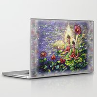 buddha Laptop & iPad Skins featuring Buddha  by Harsh Malik