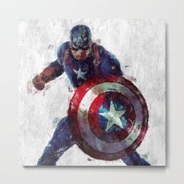 CaptainAmerica Metal Print