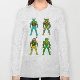 Superhero Butts - Turtles Long Sleeve T-shirt