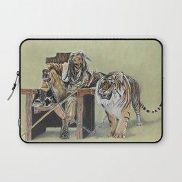 King Ezekiel and Shiva Laptop Sleeve