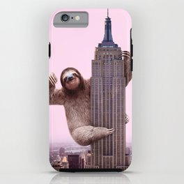 KING SLOTH iPhone Case